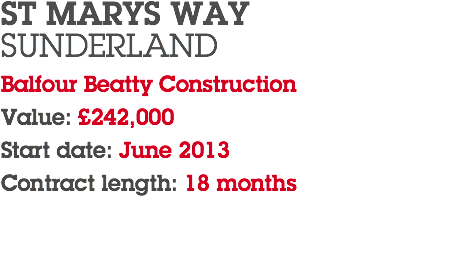 ST MARYS WAY