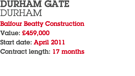 DURHAM GATE